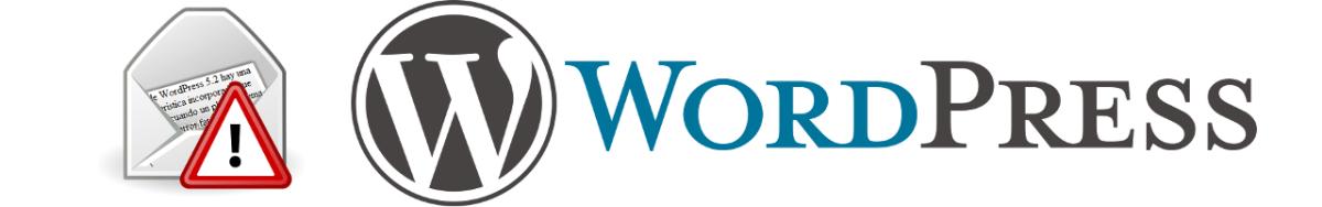 WordPress detectó un error con uno de tus plugins