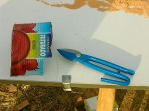 Chapas para proteger la madera de los amarres