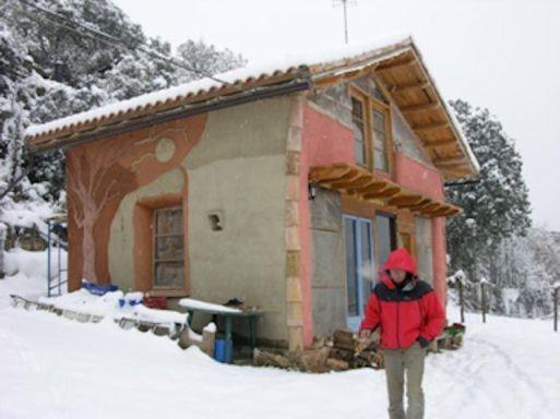 Una nevada...