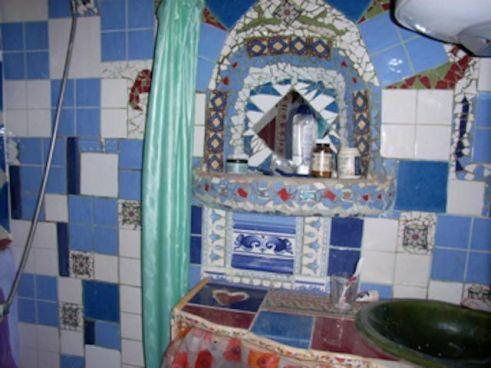 Mosaico del Baño