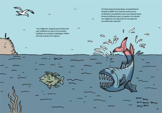 Una pila de preguntes. Il·lustració llibre infantil de Laura Klamburg