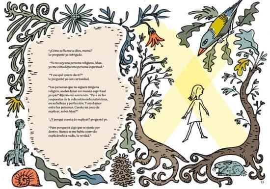 A bunch of questions. Ilustración Laura Klamburg
