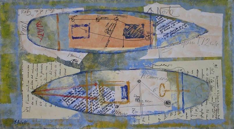 Pintura técnica mixta de Nuria Balcells