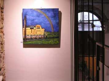 Cuadro de alumno del Taller. Galería Mezanina. Clases de Dibujo y Pintura en Barcelona
