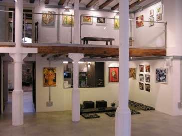 Exposición alumnos 4 Pintors, clases de Arte en Barcelona