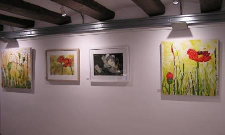 Taller 4 Pintors en Galería Mezanina. Clases de Dibujo y Pintura en Barcelona