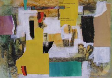 2. DIA DE FESTA. Apunt. 29,7x42 cm. Acadèmia pintura a Barcelona