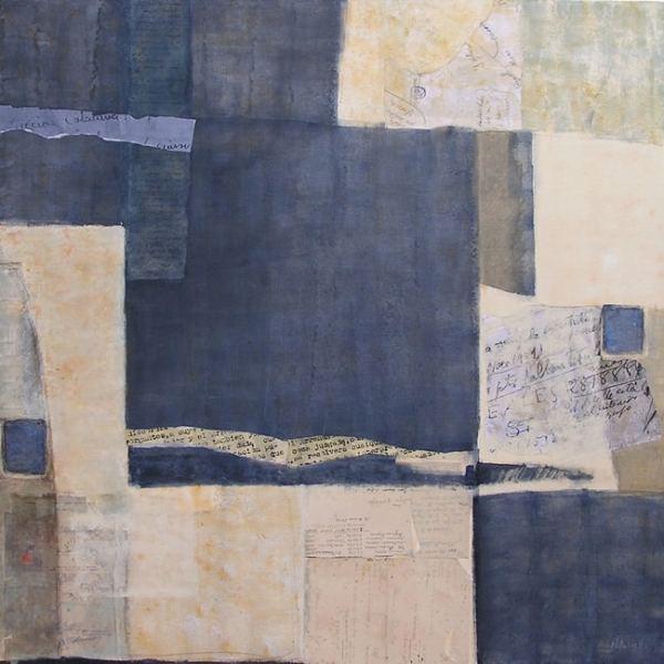 Tècnica mixta sobre tela. Curs pintura Barcelona