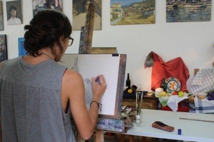 classes pintura i dibuix Barcelona