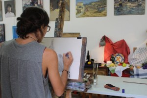 painting and drawing classes in Barcelona