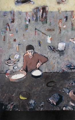 Curs de pintura acrílica sobre foto a Barcelona