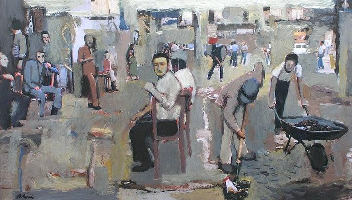 Pintura sobre fotografia. Curs d'art a Barcelona