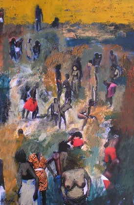 Pintura sobre foto, curs a Barcelona
