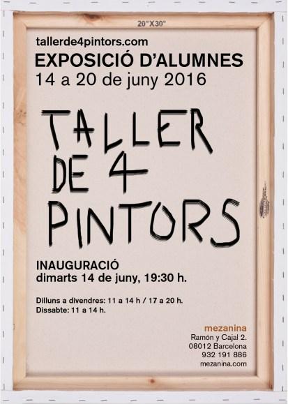 Exposició alumnes TALLER DE 4 PINTORS
