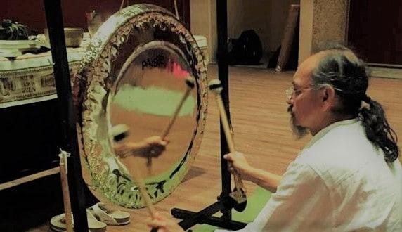 el gong como sonido terapéutico sanador