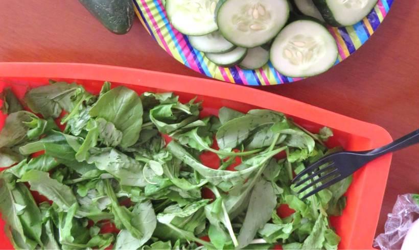 Ensalada con Proteína Vegetariana