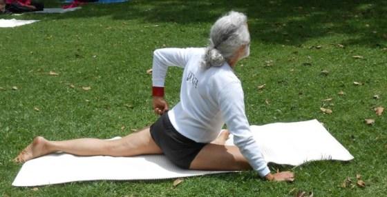 Rafael Yoga y columna