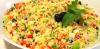 Cuscús de Verano con frutas, hierbas aromáticas y frutos secos