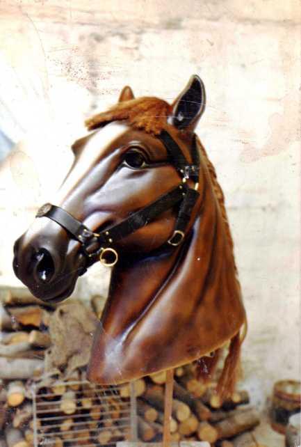 Cap de Cavall per la Comparsa dels Minyons de Terrassa