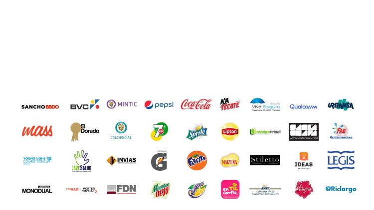 Marcas y empresas con las que he trabajado