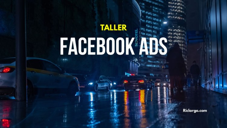 Taller de Facebook e Instagram Ads