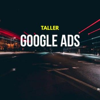 Taller Google Ads (administrador de anuncios)