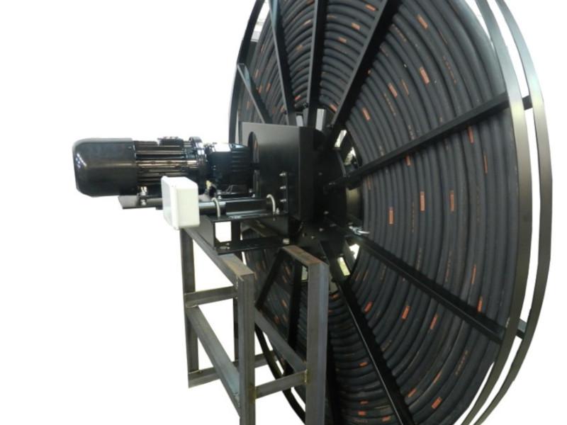 Enrollador FUM monosepiral a motor