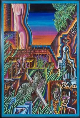 """""""Eva y los Cocodrilos,"""" 1990"""
