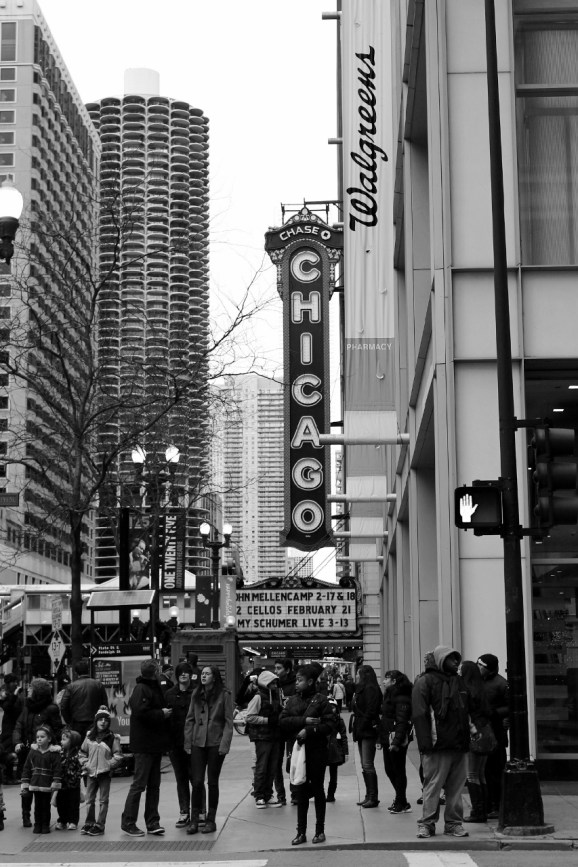 Downtown Chicago--Theater District