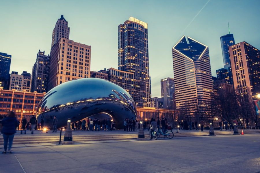 Cheap flights to Chicago from Moscow, Russia for €261 return in January!