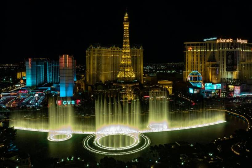 Flights from Vienna to Las Vegas starting at €334 return!