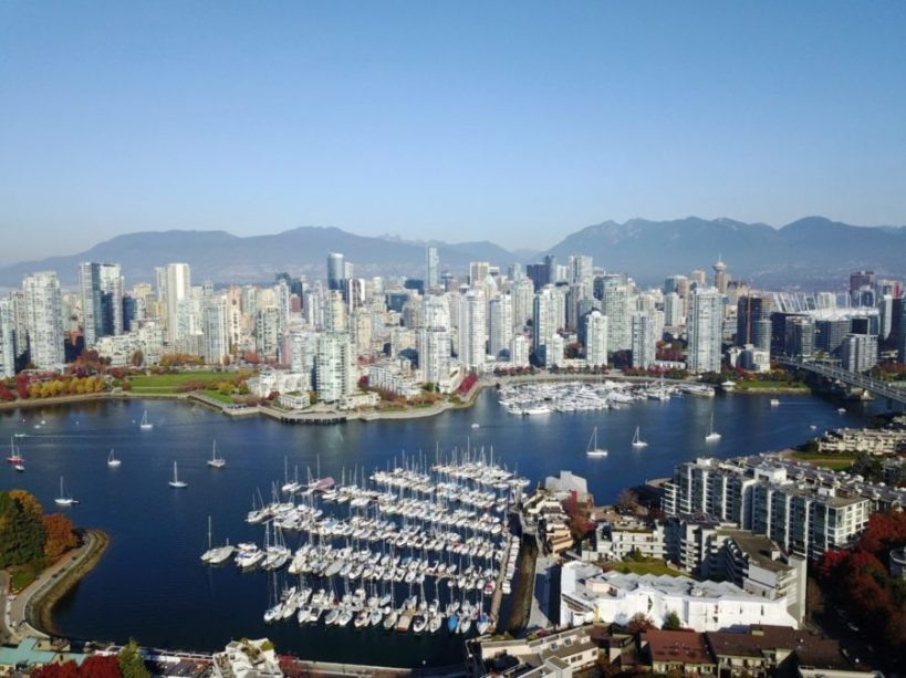 Flights from Venice to Vancouver starting at €273 return!