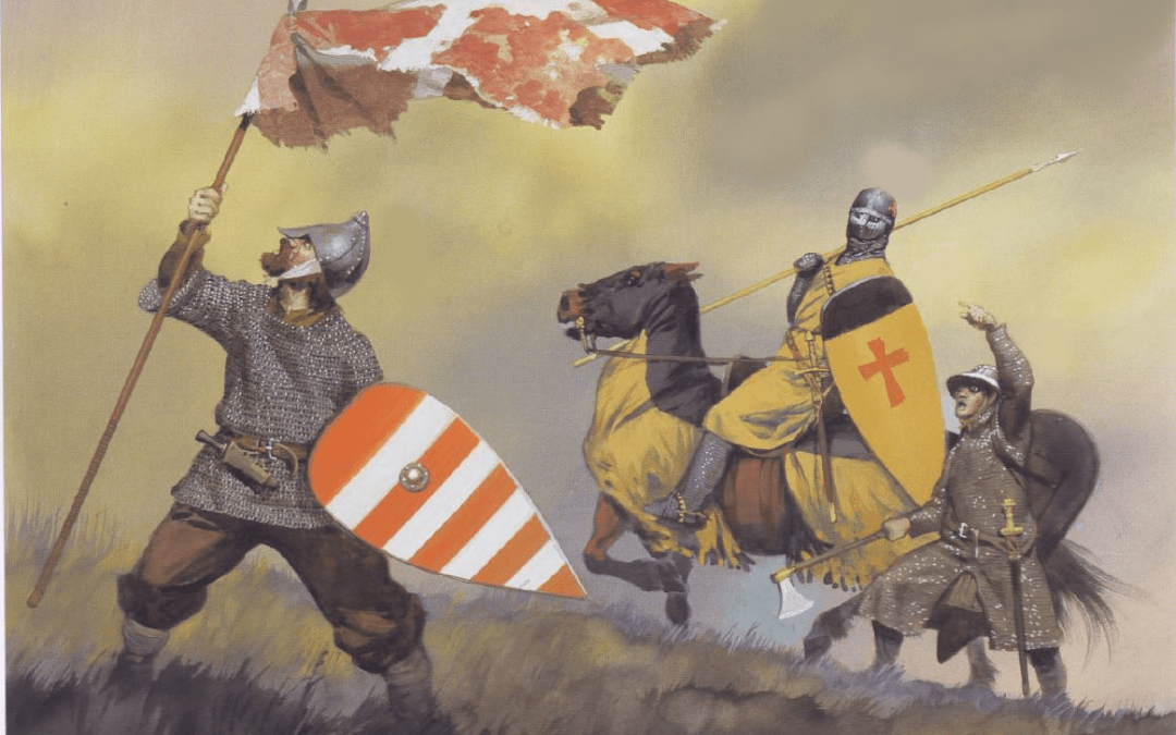 A Bishop, a King, and a Duke Go to Livonia – Background of the Legend of the Dannebrog
