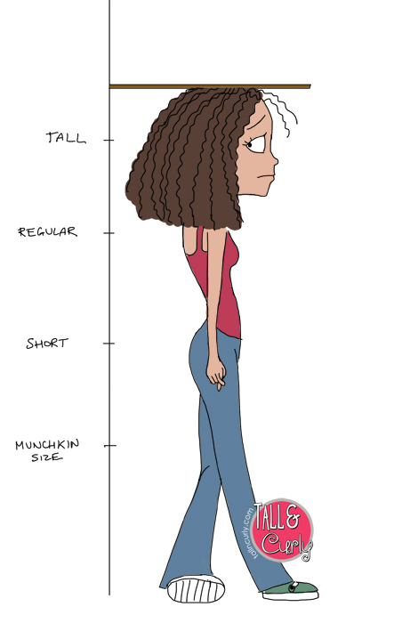 Tall N Curly - I'm tall... now what?