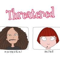 Curly Kinky Hair Business : Threatened