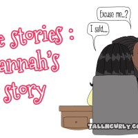 Be turned into a cartoon : Hannah's true story - Front line