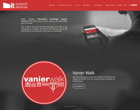 Vanier College IT Support Services