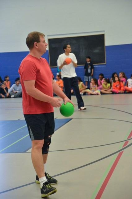 Staff Student Dodgeball Game - 2013 (24 of 54)