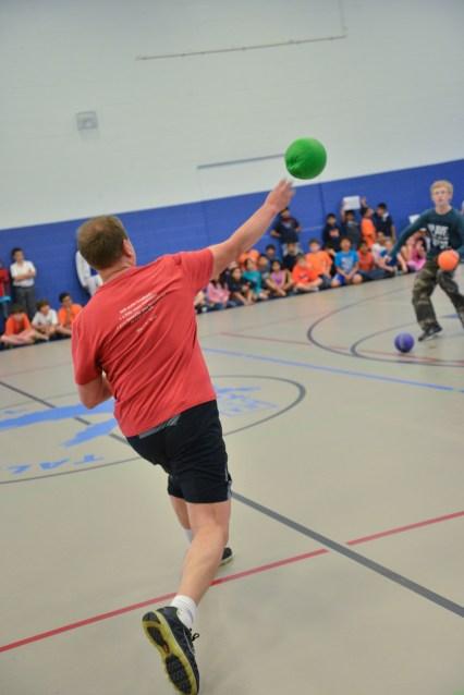 Staff Student Dodgeball Game - 2013 (25 of 54)