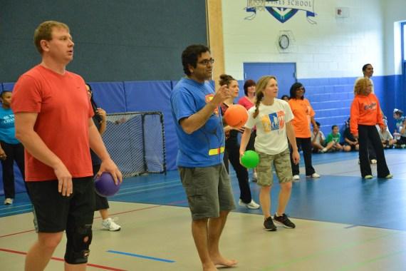 Staff Student Dodgeball Game - 2013 (28 of 54)