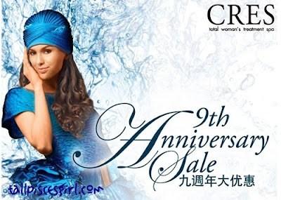 Cres 9th Anniversary Sale