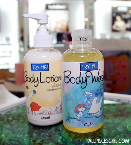 Yadah Body Lotion & Body Wash
