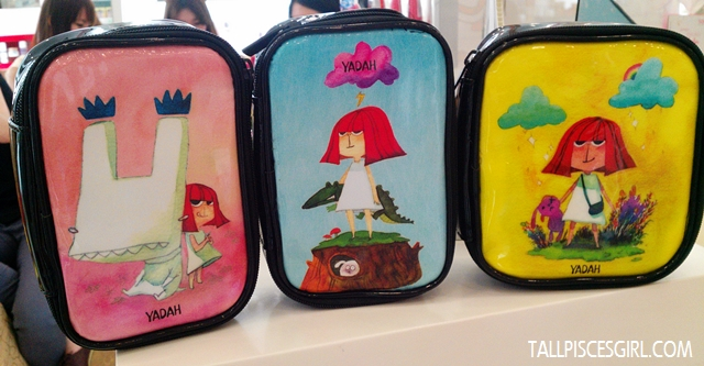 OH! Did I mention that they have cute makeup pouches too?