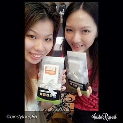 Won a power bank during quiz session! Thanks to Cindy Tong for the photo!