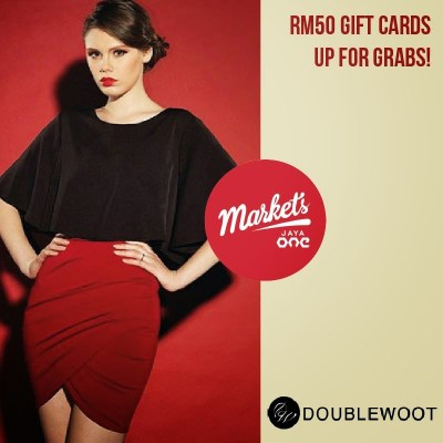 Markets 14 - RM 50 DoubleWoot Gift Cards up for grabs