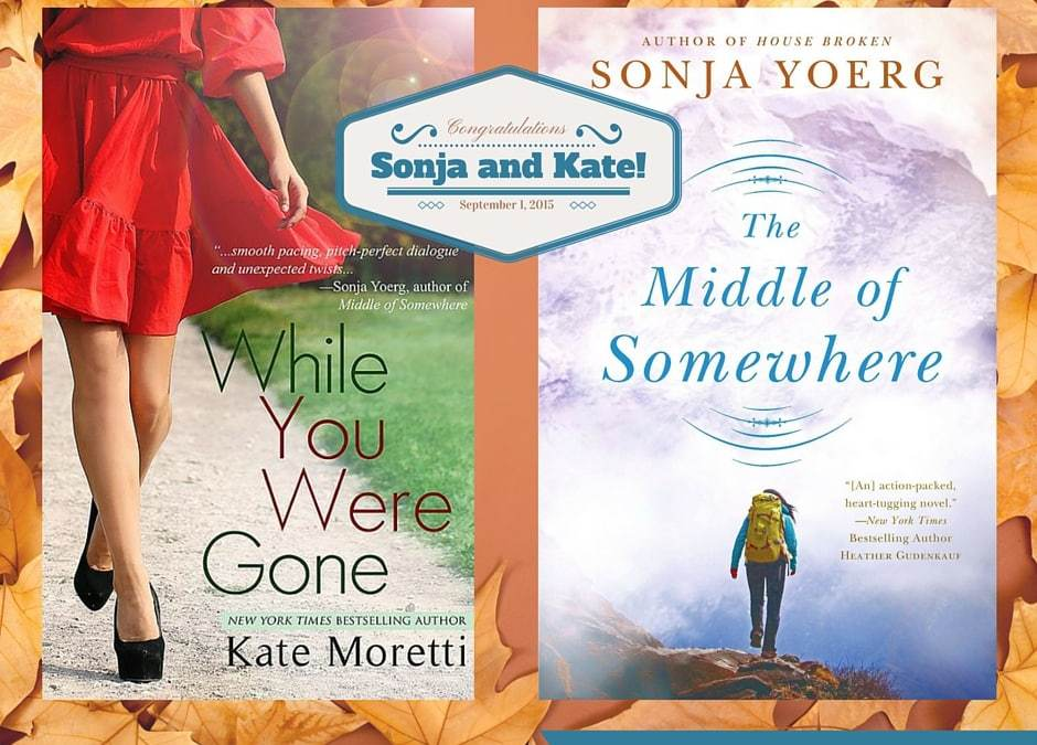 Happy Pub Day: Kate Moretti & Sonja Yoerg!
