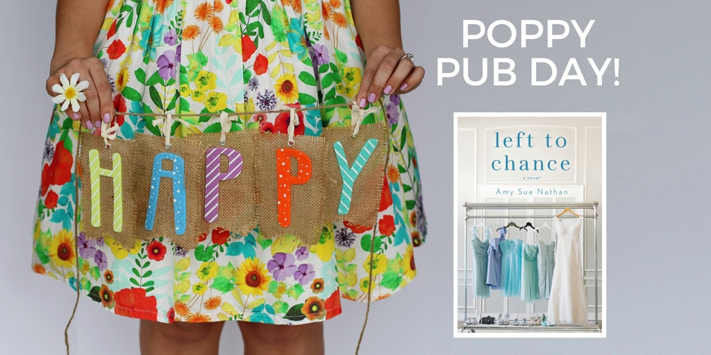 Happy Pub Day to Amy Sue Nathan and Left to Chance
