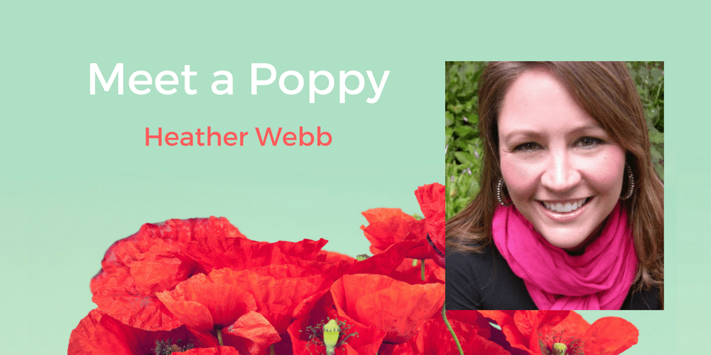 Meet a Poppy: Heather Webb