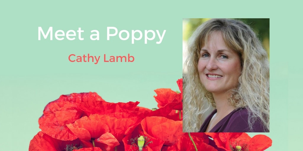 Meet a Poppy: Cathy Lamb