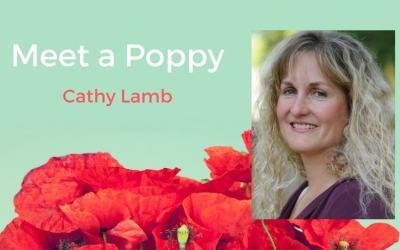 Meet a Poppy: Cathy Lamb